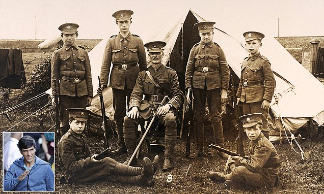 How the Somme's boy soldiers shame today's 'child' migrants writes RICHARD LITTLEJOHN