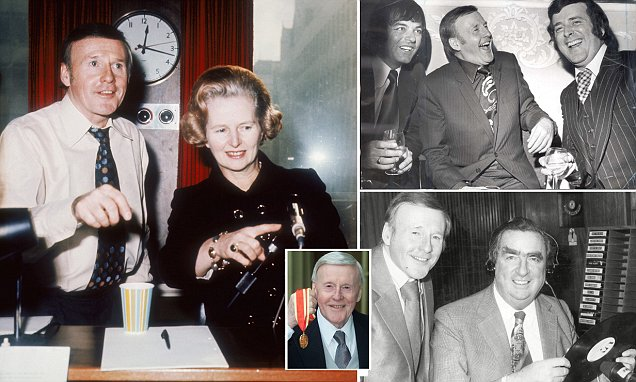 Jimmy Young turned to radio after being saved from suicide by a psychic