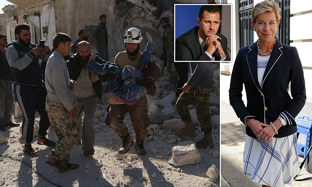 Katie Hopkins says that opposing Assad has only given us ISIS and the real prospect of