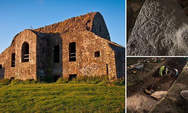 Uncovering the secrets of Dublin's 'haunted' Hellfire Club: 5,000-year-old symbols carved