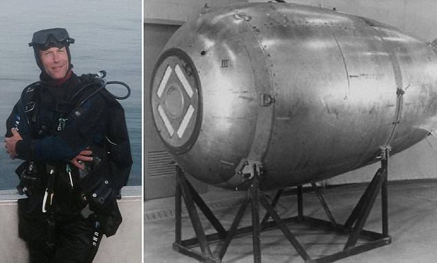 Canadian Navy will investigate 'lost nuclear bomb' spotted during diving trip