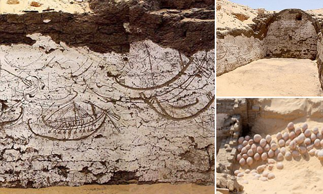 3,800-year-old Egyptian 'tableau' may depict funerary boats that carried Pharaoh Senusret