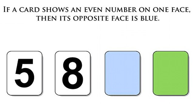 Can YOU solve this baffling card test? Nine out of 10 people will get this puzzle wrong