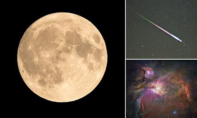 A guide to the spectacular events that will fill the skies this month