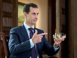 Syrian President Bashar al-Assad said Russia played a decisive role in pushing back against the jihadist terrorists