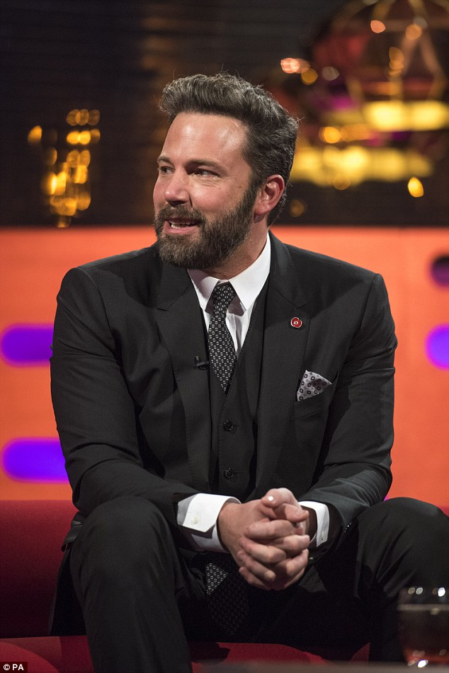 A regal encounter: During his most recent trip to Britain, Ben Affleck revealed that his youngest son had a brush with two real-life royals