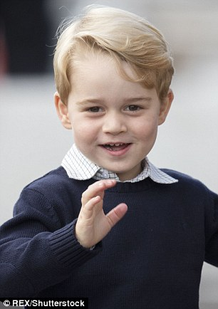 'I can tell him he got a cold from the King!': The 44-year-old joked that his youngest son, Samuel, had caught a cold after playing with Prince George and Princess Charlotte