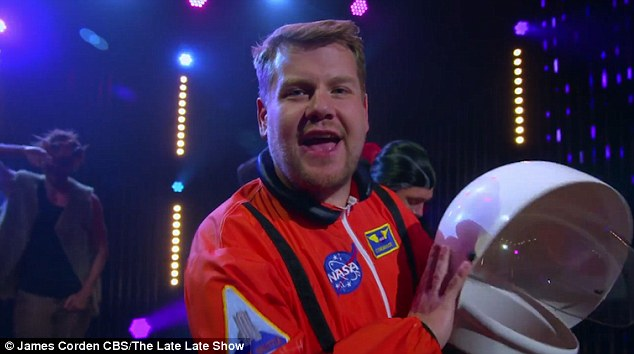 You want some sugar? James even refers to himself as 'Captain Sugar Daddy' during his time in the space suit