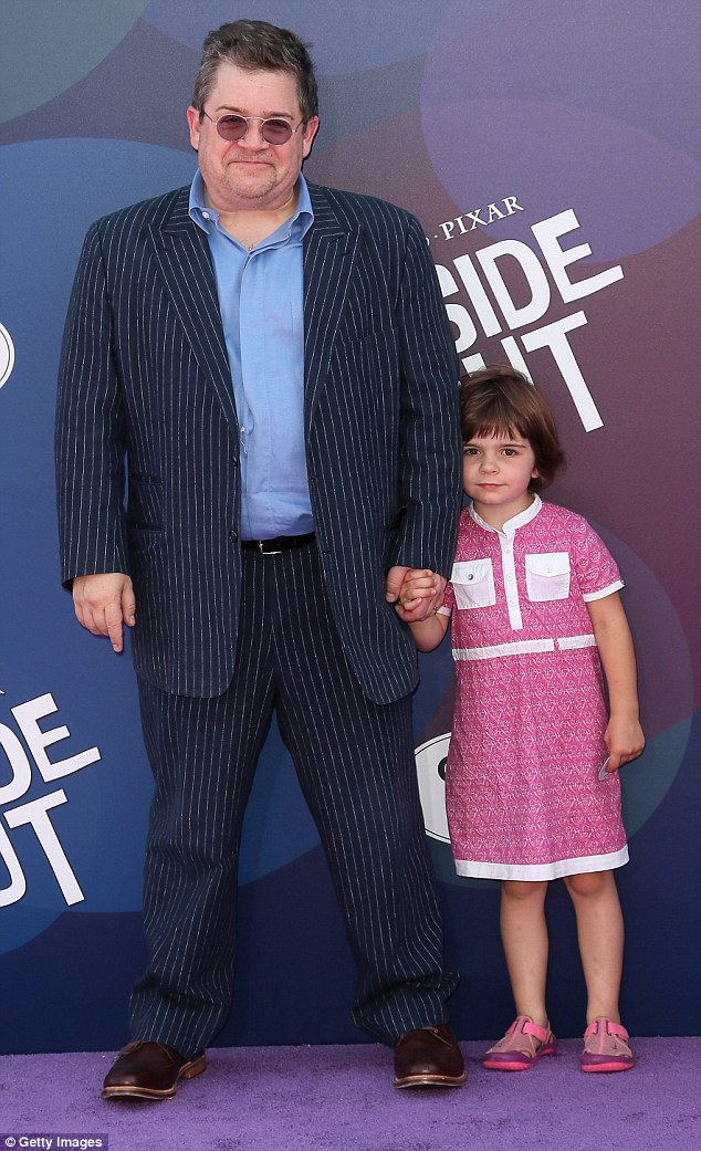 Hardest thing: The stand-up comic and actor told the NY Times that 'the worst day of his life' was when he had to tell his seven-year-old daughter Alice that her mommy was gone