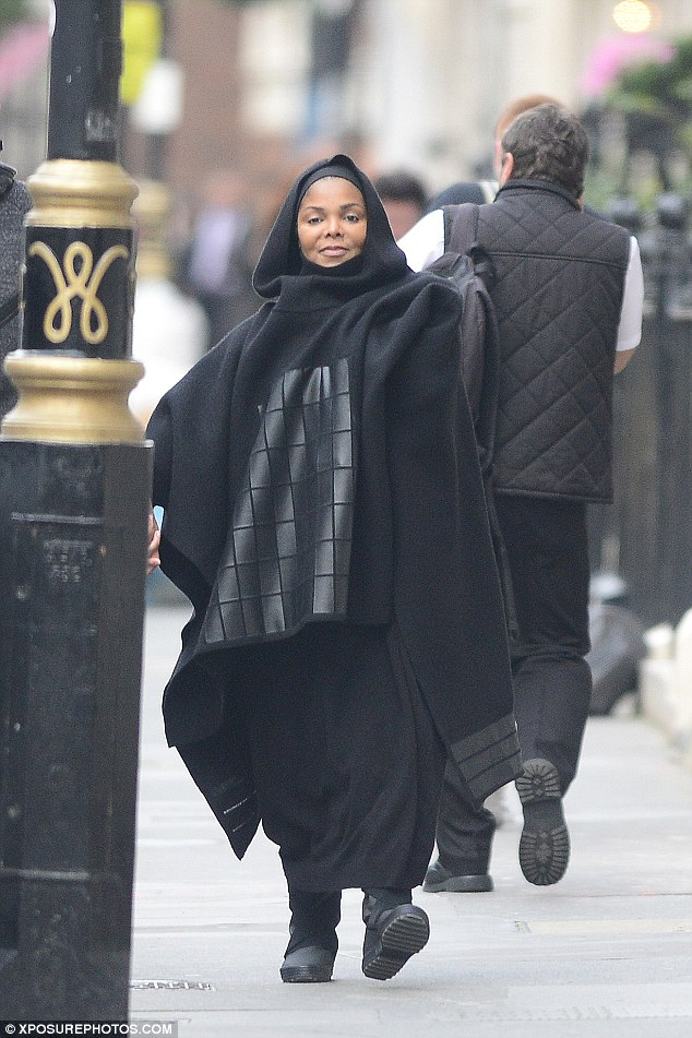 Happy families:The singer announced six months ago she was postponing her tour to 'have a family' with her Qatari hubby and has subsequently been spotted with a growing baby bump, but has never commented about the news until now