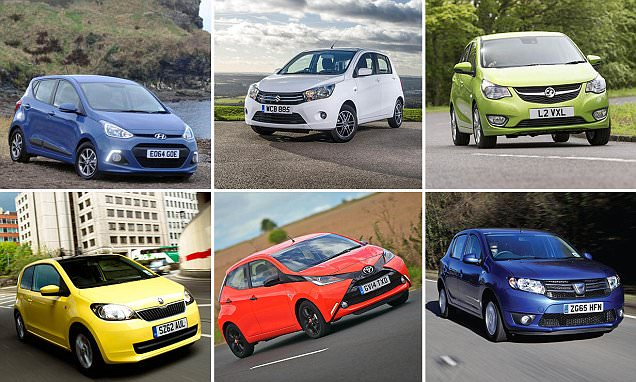 Ten of the best brand new cars for less than £10,000