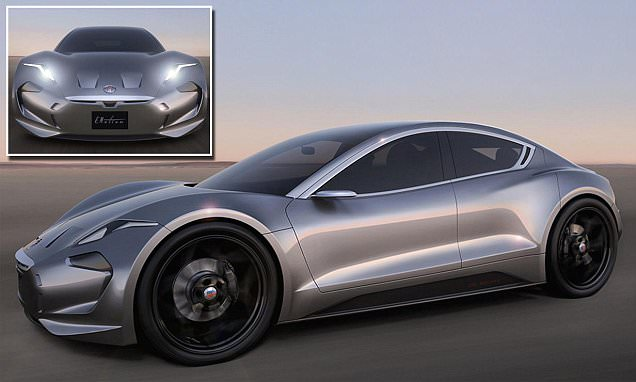Fisker EMotion could be an electric car rival to Tesla's Model S