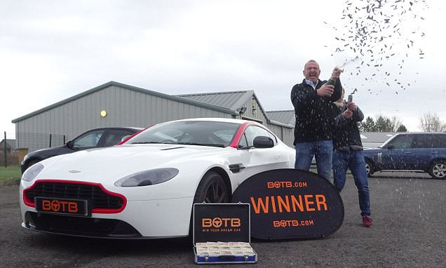 Do people win supercar giveaways