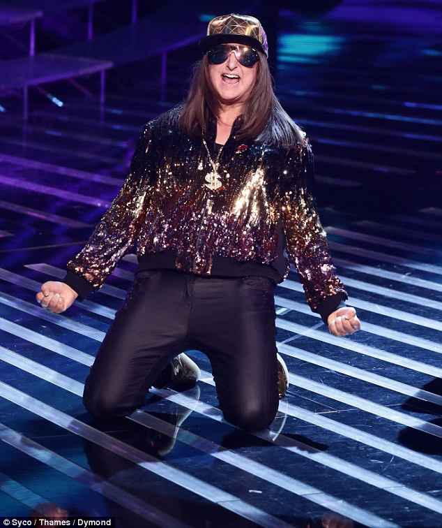 'Less rapper more Quality Street wrapper!': Honey G once again managed to sail through the competition to week six on Sunday night's results show, much to the horror of many fans