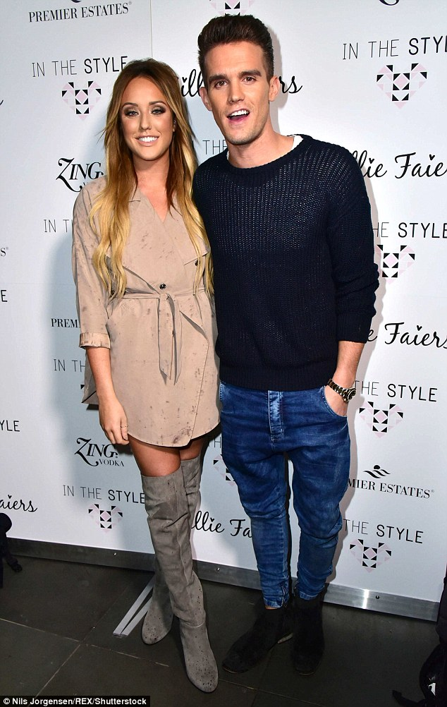 On/Off: Gaz recently revealed he'd 'snog' ex-girlfriend Charlotte Crosby who used to star with him on the show before their split turned too messy