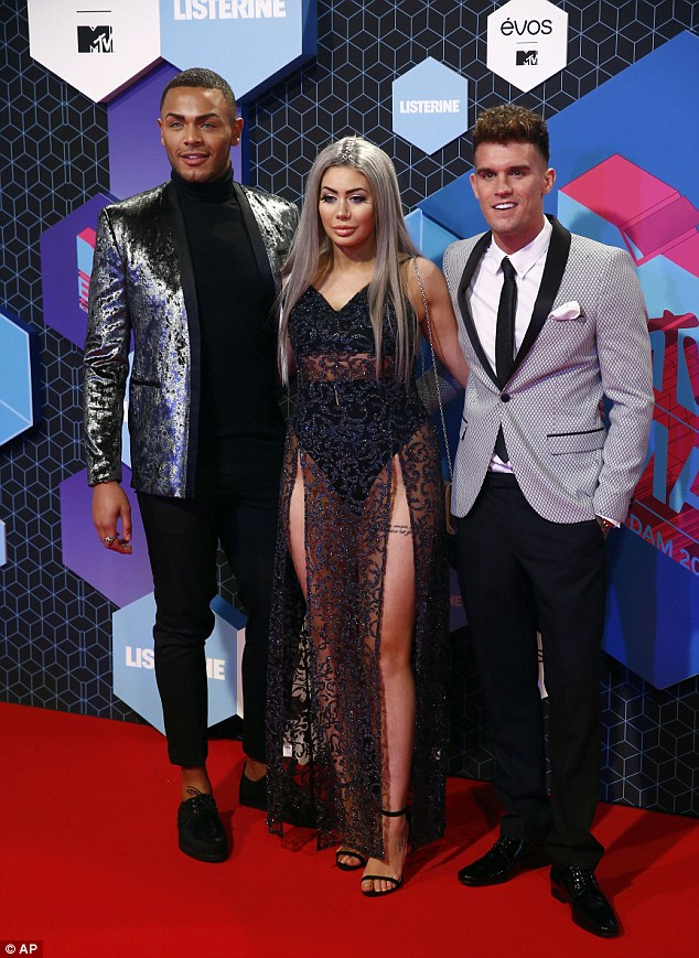 Odd one out: Gaz (pictured with co-stars Nathan Henry and Chloe Ferry) voiced his concerns about being the oldest star on the show, and has revealed he will quit soon because of it