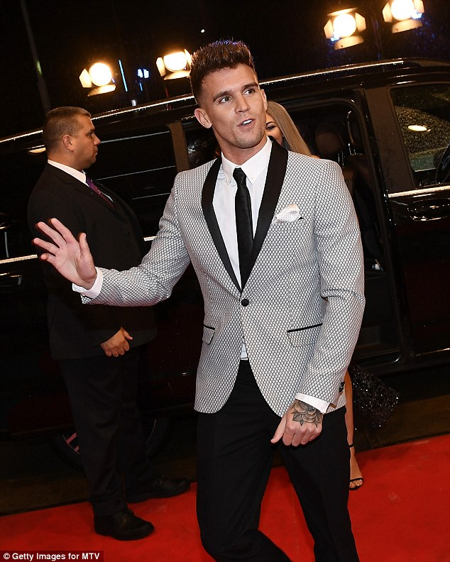 Party king:He's seen several of his relationships fall apart because of being on Geordie Shore. And Gaz Beadle has revealed he thinks Marnie Simpson's romance could go the same way