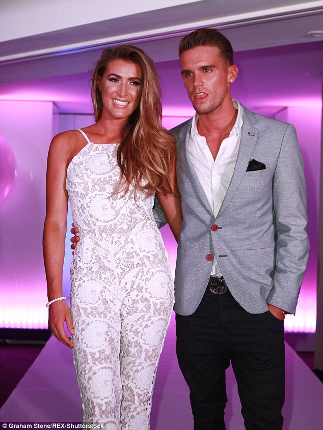 Over: Gaz said he would 'avoid' ex girlfriend Lillie Lexie Gregg who he split from during his time on Geordie Shore before getting back together with Charlotte Crosby