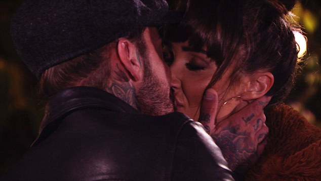 On again? Sunday night TOWIE's episode looked to be one of a reunion for Megan and Pete Wicks as they kissed to the fireworks on his birthday night