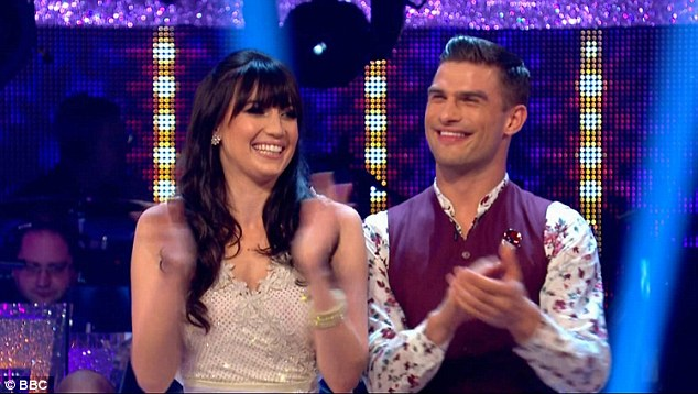 Better things: Daisy has certainly been fulfilling her wish to 'care less about what people think' as she has been dazzling on the Strictly Come Dancing floor in recent weeks