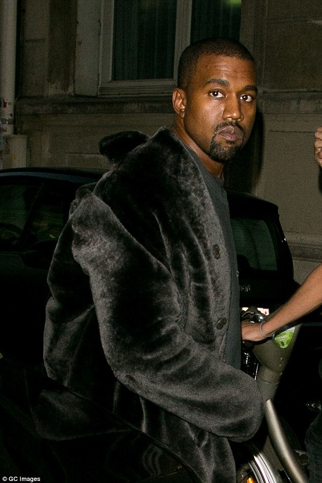 Choosy: Kanye West, 39, hated thousands of dollars in furniture celeb interior designer Sandy Gallin picked out for his Southern California home - and placed it into storage, according to the New York Post