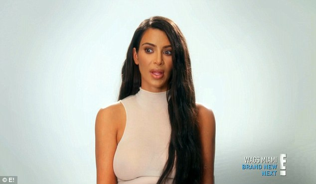 Big deal: Kim was surprised to hear about Kendall's sleep paralysis