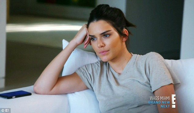 No way: Kendall balked at trying to induce a panic attack