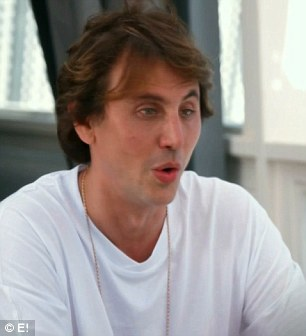 Constant anxiety: Kim confided in friend Jonathan Cheban about her constant anxiety