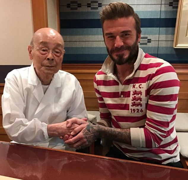 Thank you Tokyo! David loved meeting new palJiro San at his favourite eaterie in Japan