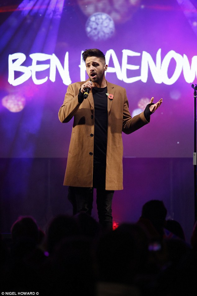 Finding fame: Ben shot to fame on the 2014 series of The X Factor, where he beat Fleur East to take the crown