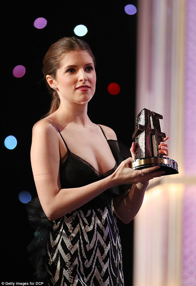 Didn't quite work:Anna meanwhile, wore a black and white dress that was far from her best style statement