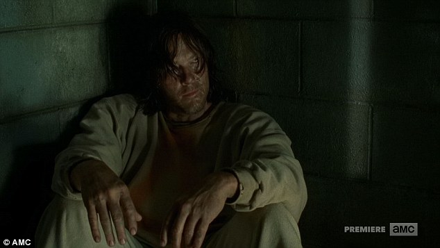Defiant: 'I ain't ever gonna kneel,' Daryl told Dwight