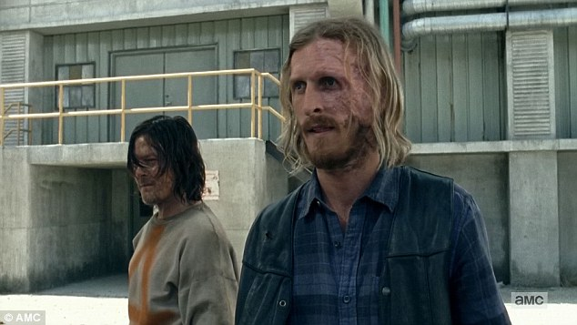 Future: Daryl was then taken to the prison yard and made to look at the zombies, and told by Dwight: 'Thats you asshole, unless you are smart, your choice you could be like them, or me, or them,' he said