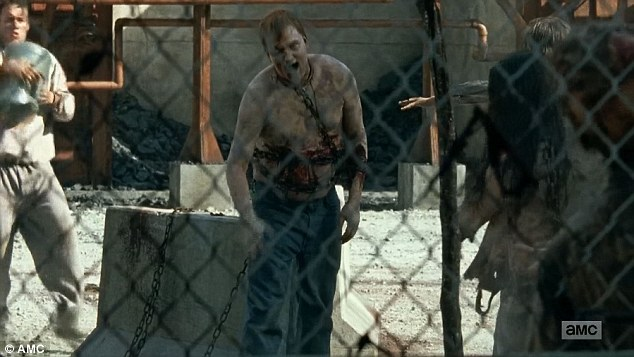 Job for life: People who died inside the Sanctuary were recruited as zombie patrolers outside
