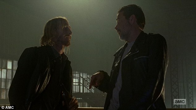 Want a shot? Negan offered Dwight a 'blast form the past' with his ex, whoit later emerged gave herself to Negan to save his life