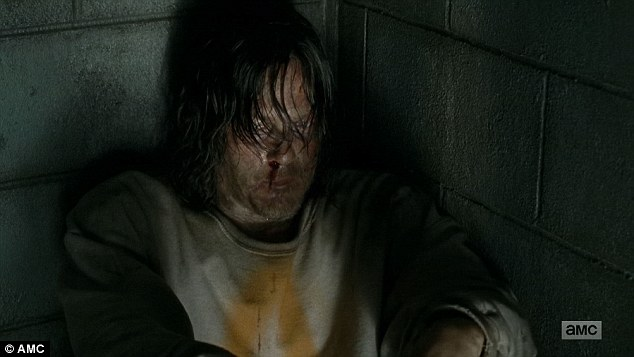 I get it: Dwight threw him back in his cell and Daryl told him he understood why Dwight had made his choice