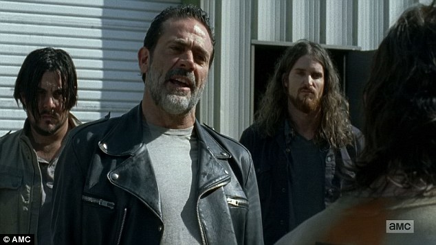 Options: He told Daryl could either end of 'on the spike' working for him as a dead man; he could get out of his cell and work for points but wish he was dead; or work for Negan and 'live like a king'