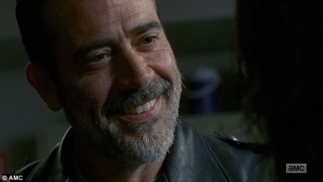 Question: Negan then asked him again 'Who are you?'