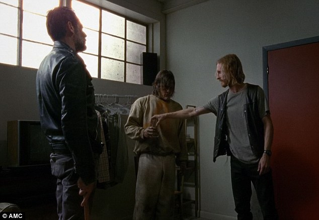 Back story: Dwight then brought Daryl to Negan's apartment where he told him how Dwight had asked for his forgiveness after escaping with his 'hot' wife and her sister