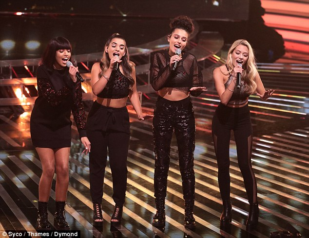 Having been a firm favourite throughout the competition Four of Diamonds saw their run on the X Factor finally end on Sunday night - some viewers claimed the decision was a fix