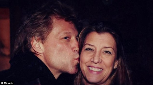 'I got it right the first time':Bon Jovi and Hurley eloped in April 1989, marrying in a Las Vegas wedding while the singer was on a short break from touring but says he works at his marriage like any other couple would