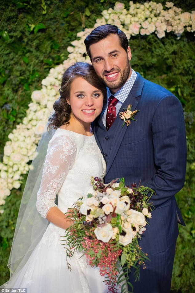 Their first words as a married couple: Jinger Duggar and Jeremy Vuolo spoke to TLC about how happy they were with their Saturday nuptials in Arkansas