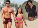 5 Nov 2016  - Barcelona - Spain *** EXCLUSIVE ALL ROUND PICTURES *** Geordie Shore's Sophie Kasaei looks loved up with boyfriend Joel Corry on holiday to Barcelona BYLINE MUST READ : JAIMIE HARRIS / XPOSUREPHOTOS.COM ***UK CLIENTS - PICTURES CONTAINING CHILDREN PLEASE PIXELATE FACE PRIOR TO PUBLICATION *** **UK CLIENTS MUST CALL PRIOR TO TV OR ONLINE USAGE PLEASE TELEPHONE  442083442007