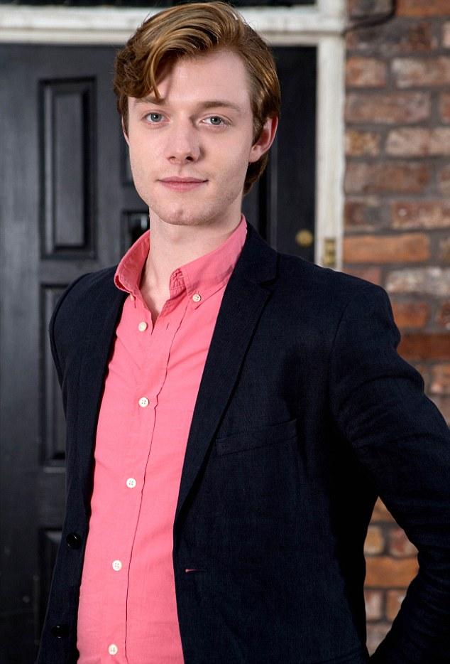 Trouble for Ken: Rob Mallard will play Daniel, Ken Barlow's academic son