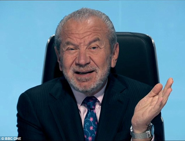 Confused? Lord Sugar was no doubt questioning the intelligence of his entrepreneurs after they failed to pick up on a simple spelling error during Thursday's episode of The Apprentice