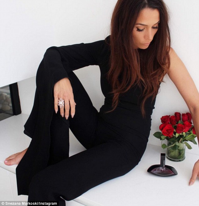 Budding blogger: Snezana Markoski pens a fashion and lifestyle blog after she shot to fame on season three of The Bachelor