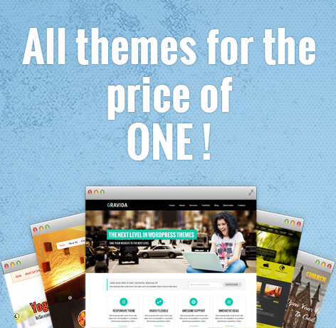 WordPress themes bundle