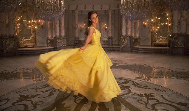 Harry Potter star Emma Watson plays a Disney princess in new film Beauty And The Beast