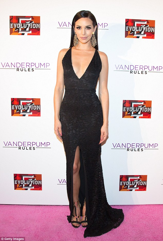 Keeping up appearances: The 31-year-old reality star also went to the Vanderpump Rules premiere party on Friday. Mikes was reportedly staying at his parents house
