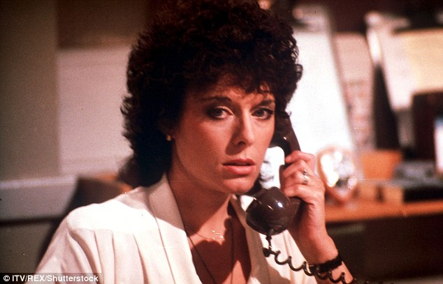 Jill Gascoine rose to fame as Detective Inspector Maggie Forbes in The Gentle Touch, pictured